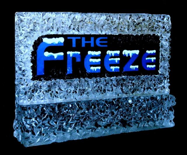 By Ice Impressions, ice-impressions.com, Ice Impressions Custom Special Event Ice Sculptures, Ice Impressions Custom Ice Sculptures, Ice Sign, Grand Opening Ice Sculpture, Ice Cream Parlor Ice Sculpture, Ice Impressions, Ice Sculptures, Ice Carvings, Ice Sculpture, Ice Carving.